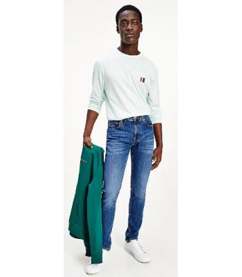 Jeans sbiadito da uomo