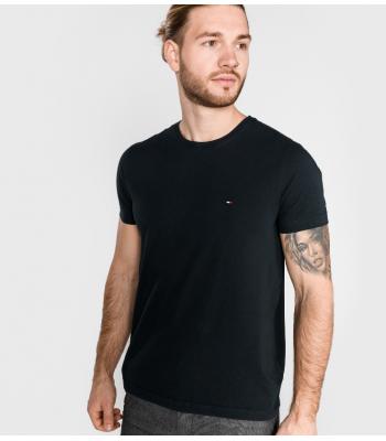 T-shirt basica con piccolo logo sul petto