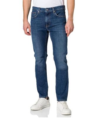 Jeans indossato modello 5 tasche, slim fit