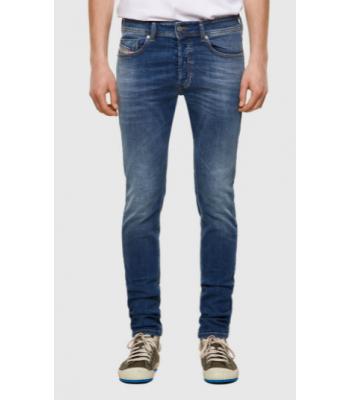 Jeans skinny in lavaggio ringring