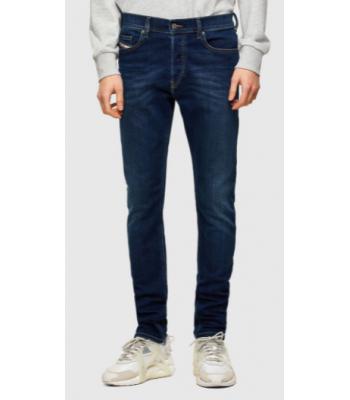Jeans blu scuro modello 5 tasche