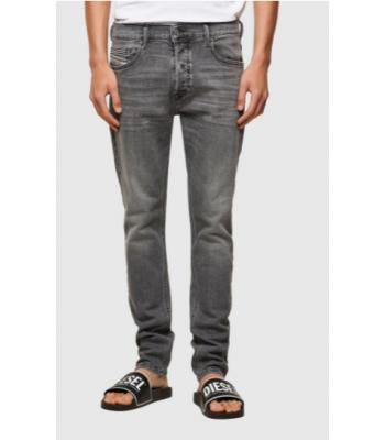 Jeans modello 5 tasche grigio