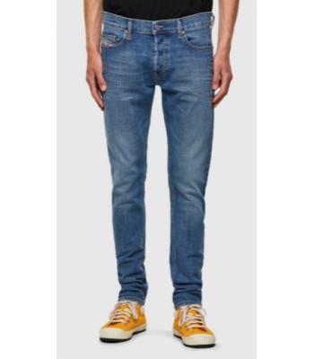 jeans 5 tasche slavato