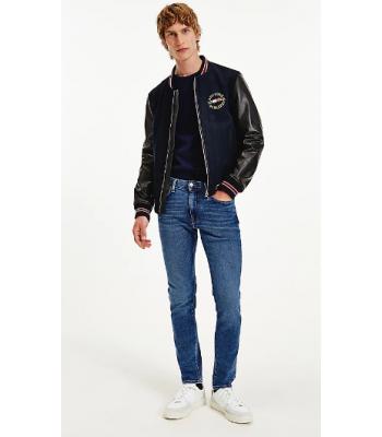 Jeans extra slim leggermente slavato