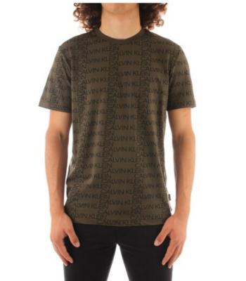 T-shirt manica corta logata Calvin Klein